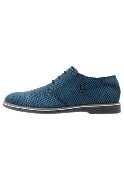Bugatti - MELCHIORE - Sznurowane obuwie sportowe - blue