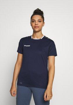 Hummel - HMLAUTHENTIC  - T-shirts print - marine