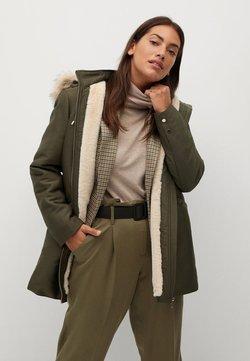 Violeta by Mango - HOUR7 - Winter coat - khaki