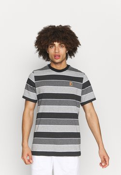 Nike Performance - STRIPES TEE - T-Shirt print - black