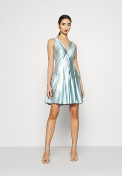WAL G. - PLEATED SKATER DRESS - Cocktailkleid/festliches Kleid - light blue