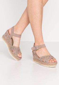 Refresh - Sandalen met hoge hak - taupe