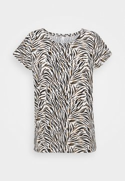 Soyaconcept - FELICITY  - T-Shirt print - 8295 biscuit combi