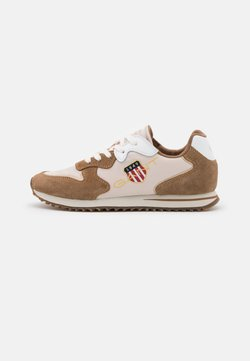 GANT - BEJA - Sneakers - walnut/beige