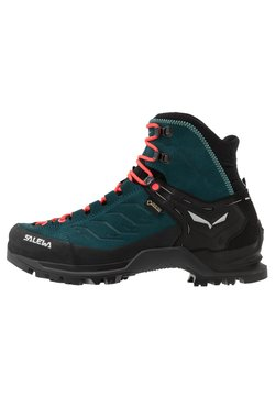 Salewa - MTN TRAINER MID GTX - Hikingschuh - atlantic deep/ombre blue