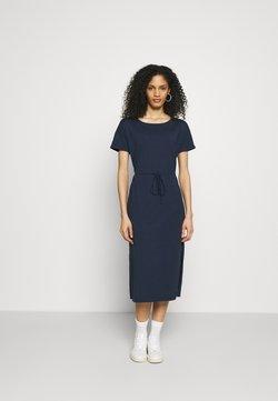 edc by Esprit - CRISPY DRESS - Maxikleid - navy