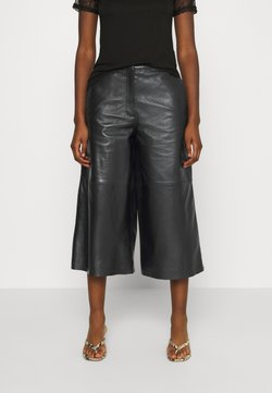 Oakwood - MEGHAN - Pantalon en cuir - black