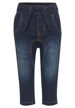 Hummel - HMLLEO - Straight leg jeans - dark denim
