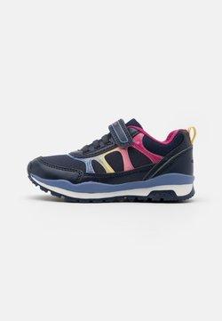 Geox - PAVEL GIRL - Sneakers laag - navy/multicolor