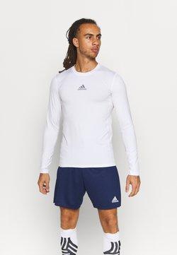 adidas Performance - TECH FIT - Tekninen urheilupaita - white