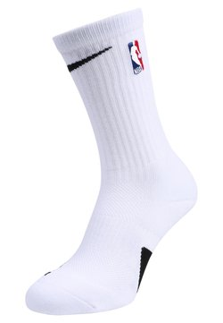 Nike Performance - ELITE CREW NBA - Sportsocken - white/black