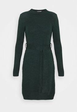 Anna Field - Strikket kjole - dark green