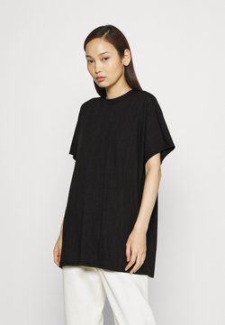 Monki - FILLA - T-Shirt print - black