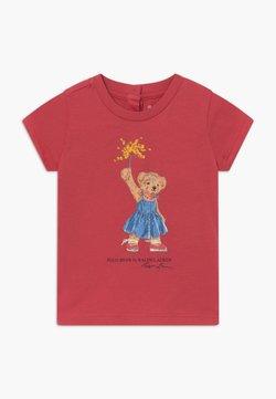 Polo Ralph Lauren - BEAR TEE - Camiseta estampada - nantucket red