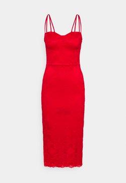 WAL G. - TYLER BODYCON DRESS - Vapaa-ajan mekko - red