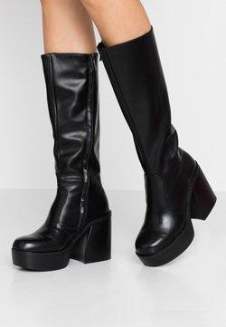 mtng - SETENTA - Laarzen met hoge hak - black
