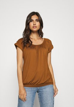 Soyaconcept - SC-MARICA 4 - Camiseta básica - dark caramel