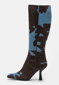 Jeffrey Campbell - HUXTABLE - Laarzen - blue/brown