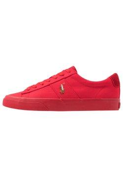 Polo Ralph Lauren - SAYER - Sneaker low - red