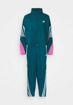 adidas Performance - GAMETI SET - Trainingsanzug - turquoise/white/pink