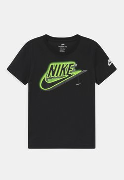 Nike Sportswear - GLOW IN THE DARK FUTURA LIGHT - T-shirts med print - black