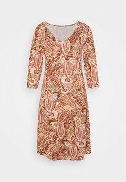 Cream - LULLA DRESS - Freizeitkleid - rose brown