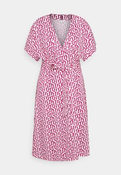 Tommy Hilfiger Curve - WRAP DRESS  - Jerseykleid - pink