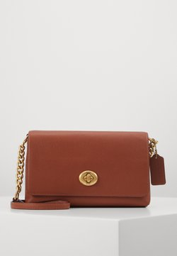 Coach - CROSSTOWN CROSSBODY - Torba na ramię - saddle