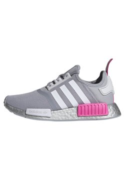 adidas Originals - NMD_R1 SHOES - Sneaker low - halo silver/ftwr white/screaming pink