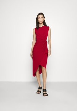 WAL G. - SIDE KNOT DRESS - Cocktail dress / Party dress - cherry