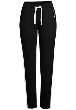 Bench - Jogginghose - schwarz-weiß