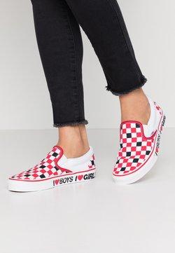 Vans - CLASSIC UNISEX - Loafers - black/true white
