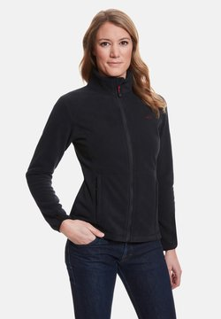 Jeff Green - ANNE - Fleecejacke - black