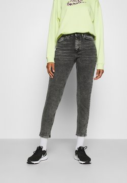ONLY - ONLVENEDA LIFE MOM  - Jeans Relaxed Fit - black denim