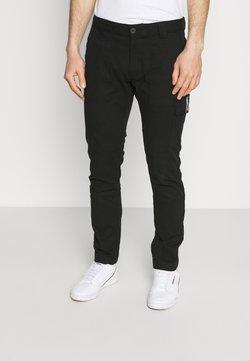 Tommy Jeans - SCANTON DOBBY PANT - Reisitaskuhousut - black