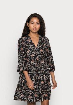 Vero Moda Petite - VMSIMPLY EASY SHORT DRESS - Freizeitkleid - black