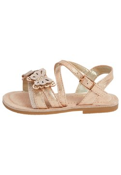 Next - MULTI PASTEL 3D BUTTERFLY SANDALS (YOUNGER) - Sandalen - gold