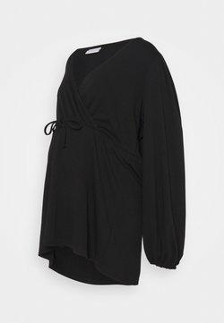 Mamalicious Curve - MLPICAS TESS - Camiseta de manga larga - black