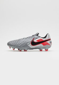 Nike Performance - TIEMPO LEGEND 8 PRO FG - Moulded stud football boots - metallic bomber grey/black/particle grey