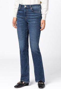 HALLHUBER - AUS CANDIANI DENIM - Jeans Bootcut - dark vintage blue