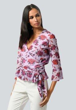 Alba Moda - Bluse - flieder,pink,schwarz