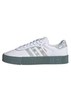 adidas Originals - SAMBAROSE - Sneaker low - white