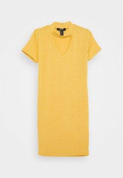 New Look 915 Generation - SOPHIE CHOKER - Jerseykleid - yellow