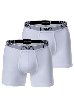 Emporio Armani - 2 PACK - Shorty - white