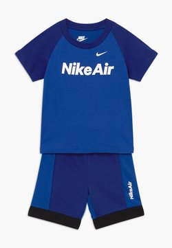 Nike Sportswear - AIR FRENCH BABY SET  - Pantalon classique - deep royal blue