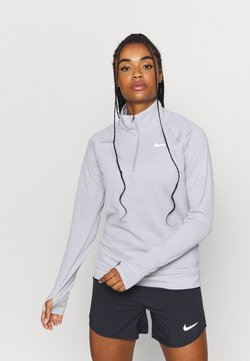 Nike Performance - PACER - Camiseta de deporte - light smoke grey/reflective silver