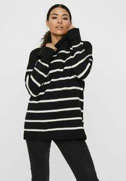 Vero Moda - Strickpullover - black