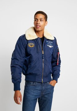 Alpha Industries - INJECTOR  AIR FORCE - Blouson Bomber - new navy