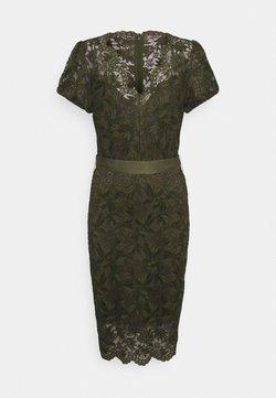 Guess - AMELIE DRESS - Kotelomekko - vert/greenwich green