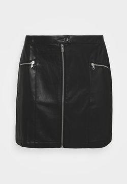 Simply Be - MINI SKIRT - Minirock - black